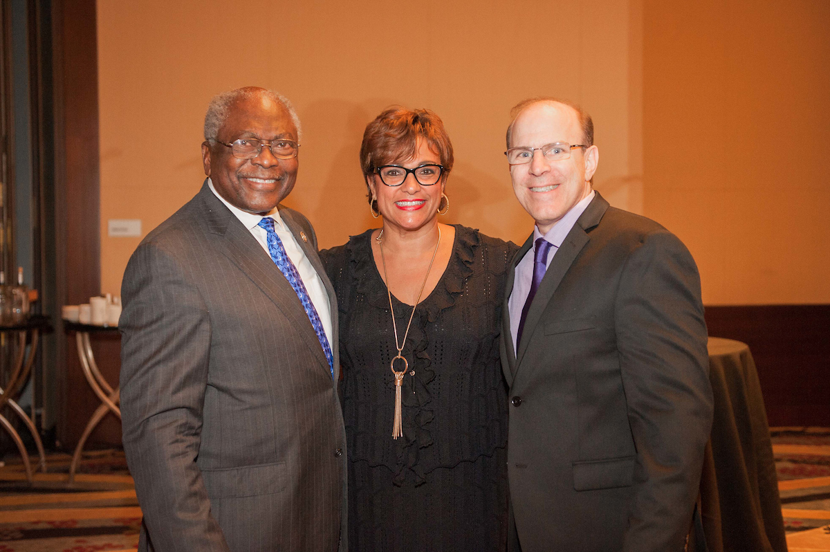 Mark Bergel, James Clyburn, and Debbi Jarvis