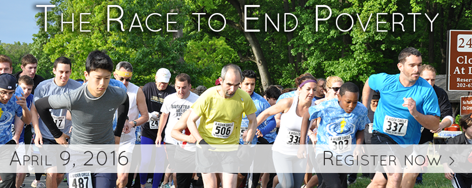race to end poverty 2016